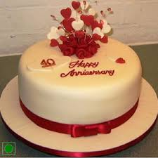 anniversary cake beautiful annivarsary cake express home delivery across jaipur