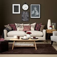 chocolate and cream living room chocolate brown living rooms
