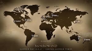 Eso Maps Launch Details For The Elder Scrolls Online Morrowind The Elder