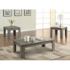 coffee table and end tables 3pc table set wayfair