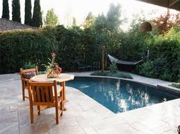 inground pool patio ideas waterfall swimming pool design