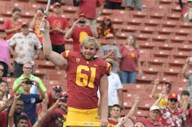 Blind Side Family Name Jake Olson 8 Things To Know About Usc U0027s Football Player Who Is