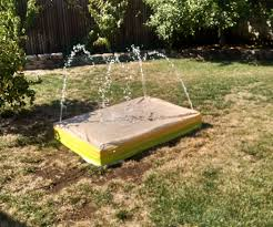 backyard recirculating splash pad 8 steps with pictures