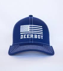 American Flag Visor Deerboy Hunting Lifestyle Apparel Deerboy American Flag Cap In
