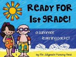 take home summer learning kit and kindergarten summer homework