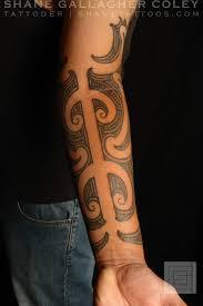 maori sleeve shane tattoos maori forearm sleeve