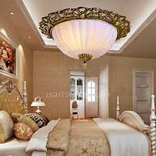 European Ceiling Lights European Style 2 Light Metal Painting Vintage Ceiling Lights