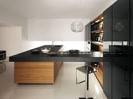 lack kchen schwarz große küchenplatte schwarz holzschränk cesar arredamenti küche