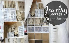 jewelry storage u0026 organization closet tour jewelry