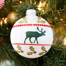 diy it ugly sweater christmas ornaments christmas ornament as
