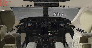 gulfstream g iv sp cockpit upgrade for x plane 11 10