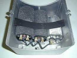 baldor l1410t motor parts capacitor box kit compressor parts