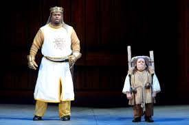 theater review monty python u0027s spamalot hollywood bowl