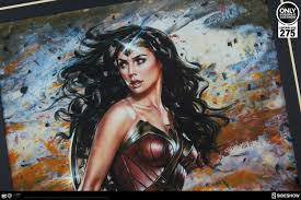 amazon warrior add the might of the wonder woman amazon warrior fine art print by