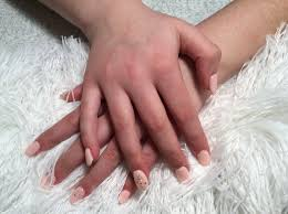 how to do white tips with pink shellac on my daughter youtube