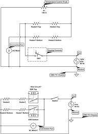 temperature connecting solid state relays to ac heating elements