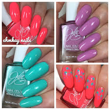 ehmkay nails julie g spring 1 set dream in pretty and