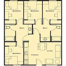 4 bedroom cabin plans smartness ideas 7 free house plans for 4 bedrooms bedroom small