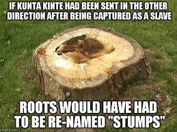 Kunta Kinte Meme - stump imgflip