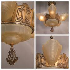 Lighting Stores Houston by A3647 Art Deco Bronze Chandelier With Shades Bogart Bremmer