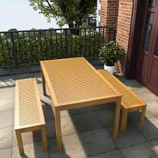outdoor table and benches set outdoor artika
