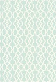 spring fret traditional lattice aqua blue green cream lat 503