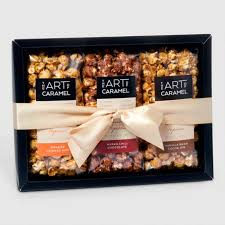 food gift sets chocolate caramel popcorn gift set world market