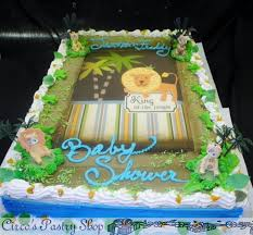 jungle themed baby shower jungle cakes for baby shower party xyz