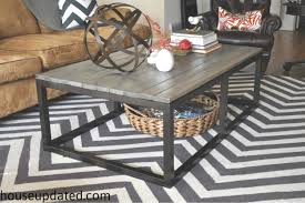how to build a diy industrial coffee table for only 75 24 house