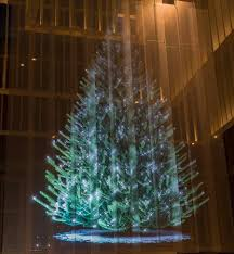 7 metre holographic christmas tree at the rijksmuseum picture of