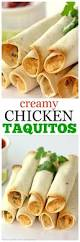 baked creamy chicken taquitos the who ate everything