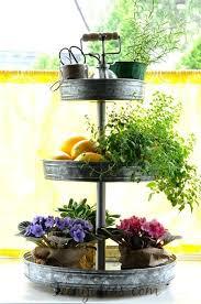 Indoor Herbal Garden Herb Garden With Tower Planter