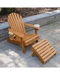 Adirondack Chair With Ottoman Deal On Longshore Tides Camacho Plastic Folding Adirondack