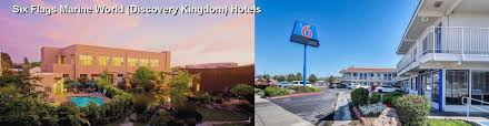 Six Flags Discovery Kingdom Discounts 55 Hotels Near Six Flags Marine World Discovery Kingdom In