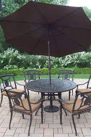complimenting patio with wrought iron furniture cushions decor
