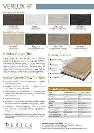 a new direction for vinyl verlux luxury wall tile vertex floors
