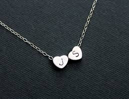 Personalized Heart Necklace 31 Stunning Half Heart Necklace For Couples Eternity Jewelry