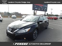 nissan altima 2016 trunk space 2016 used nissan altima 4dr sedan i4 2 5 sl at landers ford