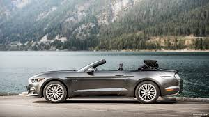 convertible mustang 2015 ford mustang convertible euro spec top in action side