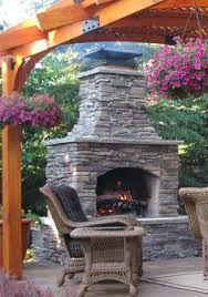 Backyard Fireplaces Ideas Outdoor Stone Fireplace U2026 Pinteres U2026