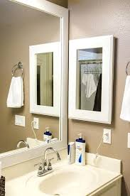 white framed recessed medicine cabinet white framed medicine cabinet recessed medicine cabinets with