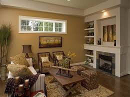 Pretty Living Rooms Design Appealing Rustic Living Room Decoration Ideas With Brown Paint