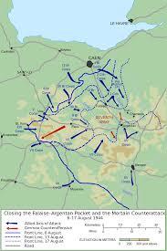 Normandy Map Falaise Pocket Wikipedia