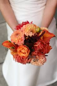 21 autumn wedding bouquets to fall in love in with