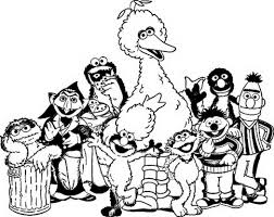 sesame street coloring pages sesame rosita online pages