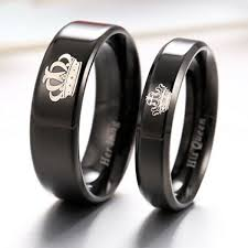 rings king images His queen her king quot black rings belovedgifts png