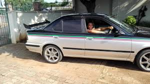 nissan sunny 2002 my pimped out nissan sunny youtube