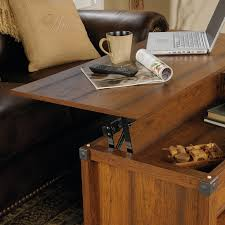 Carson Coffee Table Sauder Carson Forge Lift Top Coffee Table Hayneedle