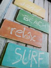 beachy signs how to make weathered signs if i get lucky and a