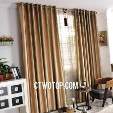 cheap orange curtains cheap orange and green striped french